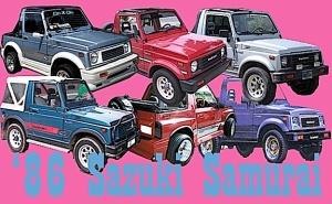 '86 Sazuki Samurai